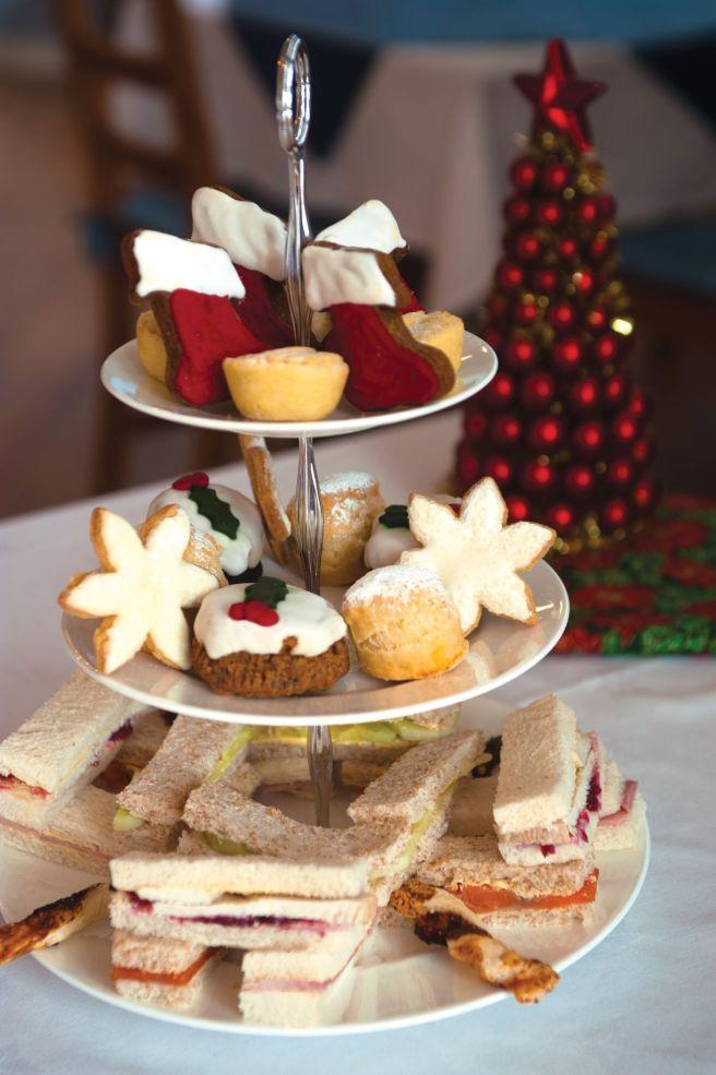 Christmas tea 16