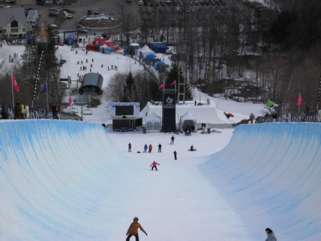 Stratten MT snowboard