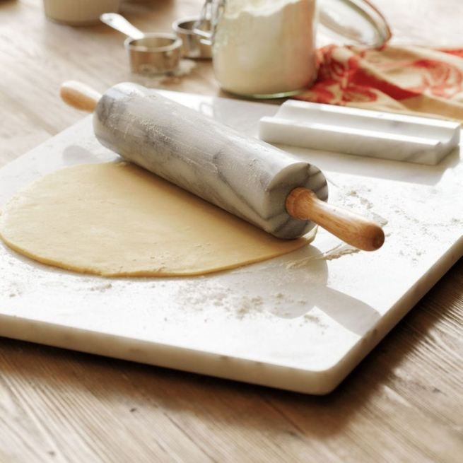 Sur-La-Table-Marble-Rolling-Pin-with-Handles