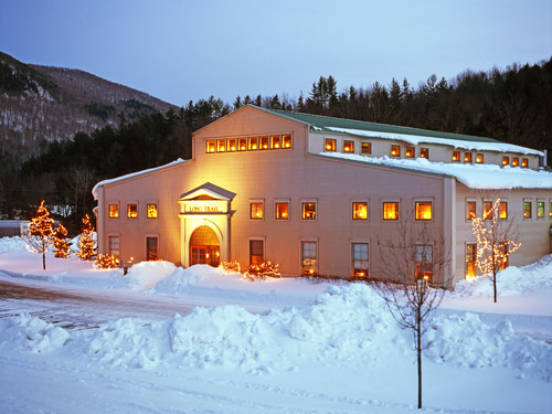 Long Trail Brewery in Winter