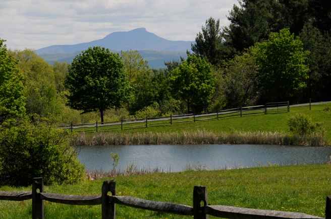 Camels Hump from Charlotte, Vermont.
