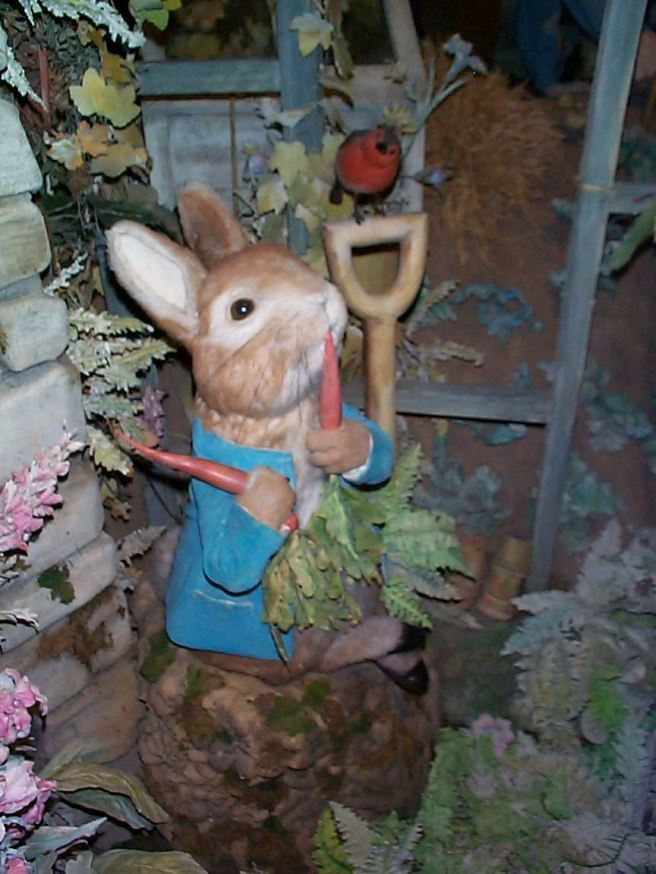 49 Peter Rabbit in The World of Beatrix Potter Museum, Windermere, UK