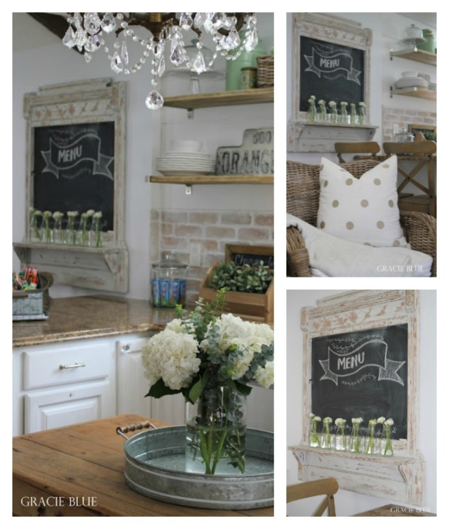 DIY-chalkboard-makover-from-vintage-mirror