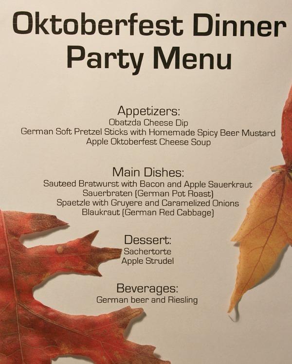oktoberfest-menu