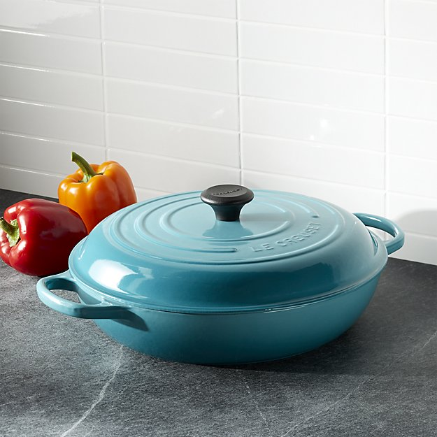 le-creuset-signature-5-qt.-caribbean-blue-everyday-pan-with-lid