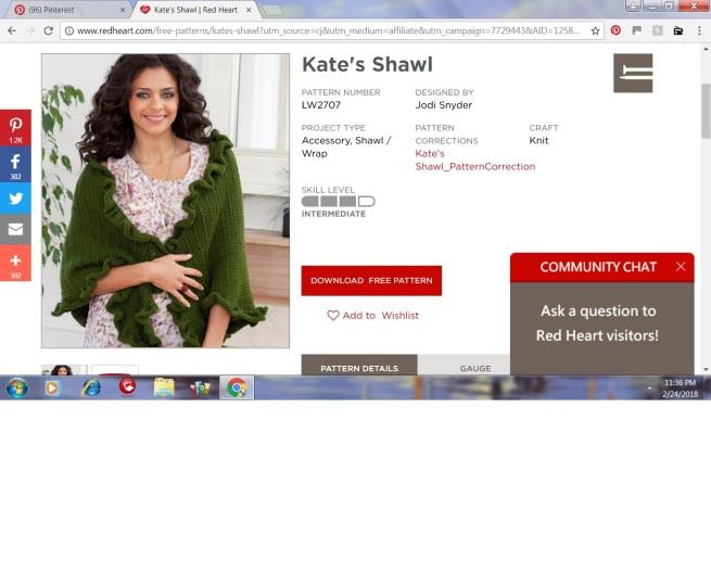 kate's shawl