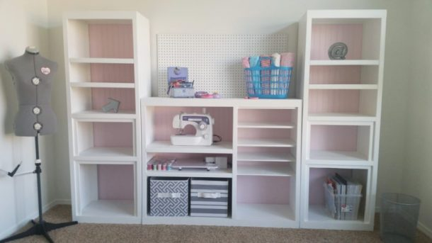 AFTER-picture-DIY-90s-Entertainment-Center-Turned-Craft-Room-Storage-Organizer-Wall-Unit-Furniture-Makeover-Do-it-Yourself-Project-Tutorial